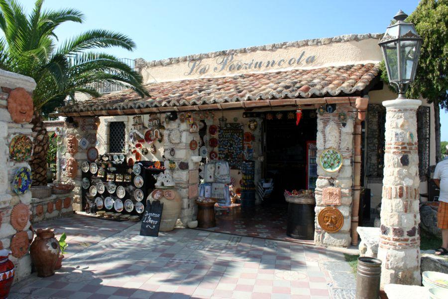 La Porziuncola - bottega in Calabria