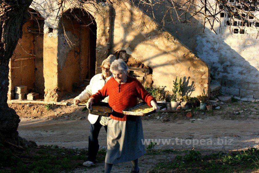 Donne calabresi - Masseria