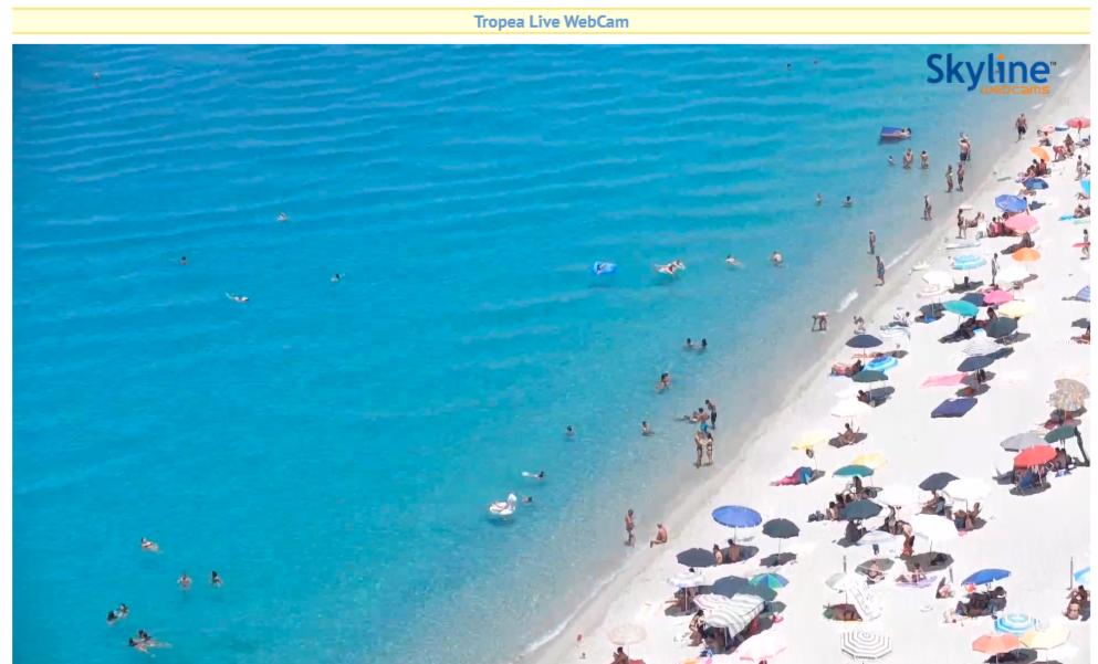 Webcam live Tropea