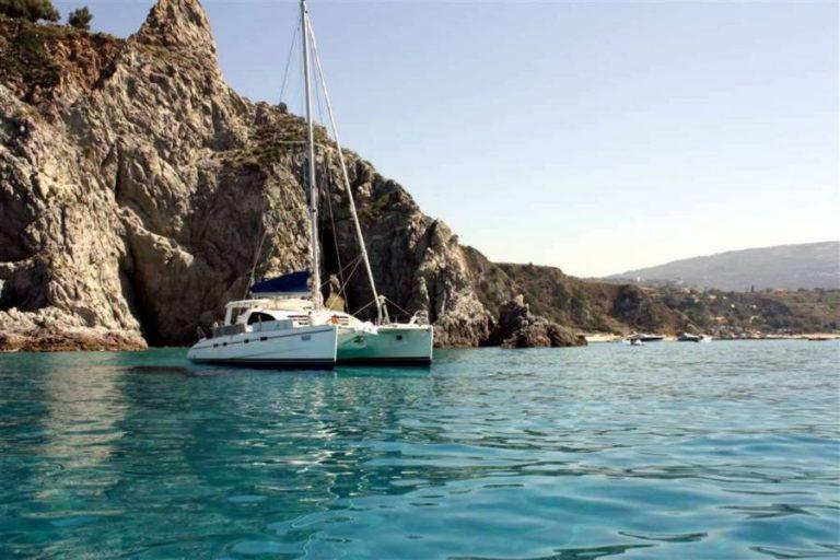 Catamarano Eolie - Tropea