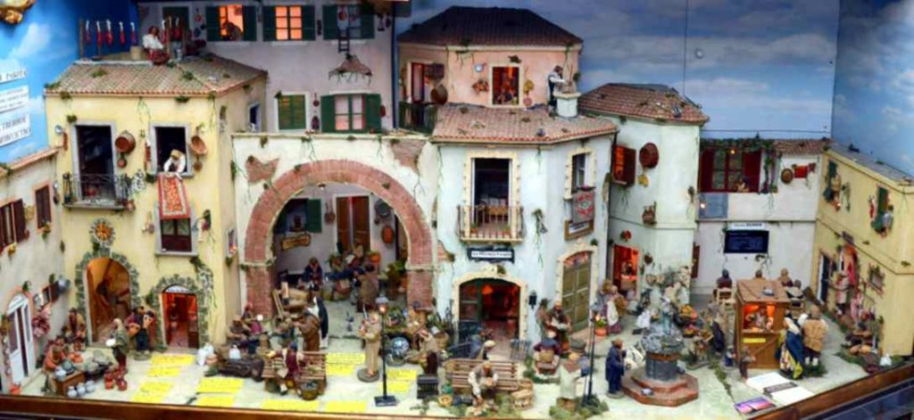 Presepi artigianali di Tropea