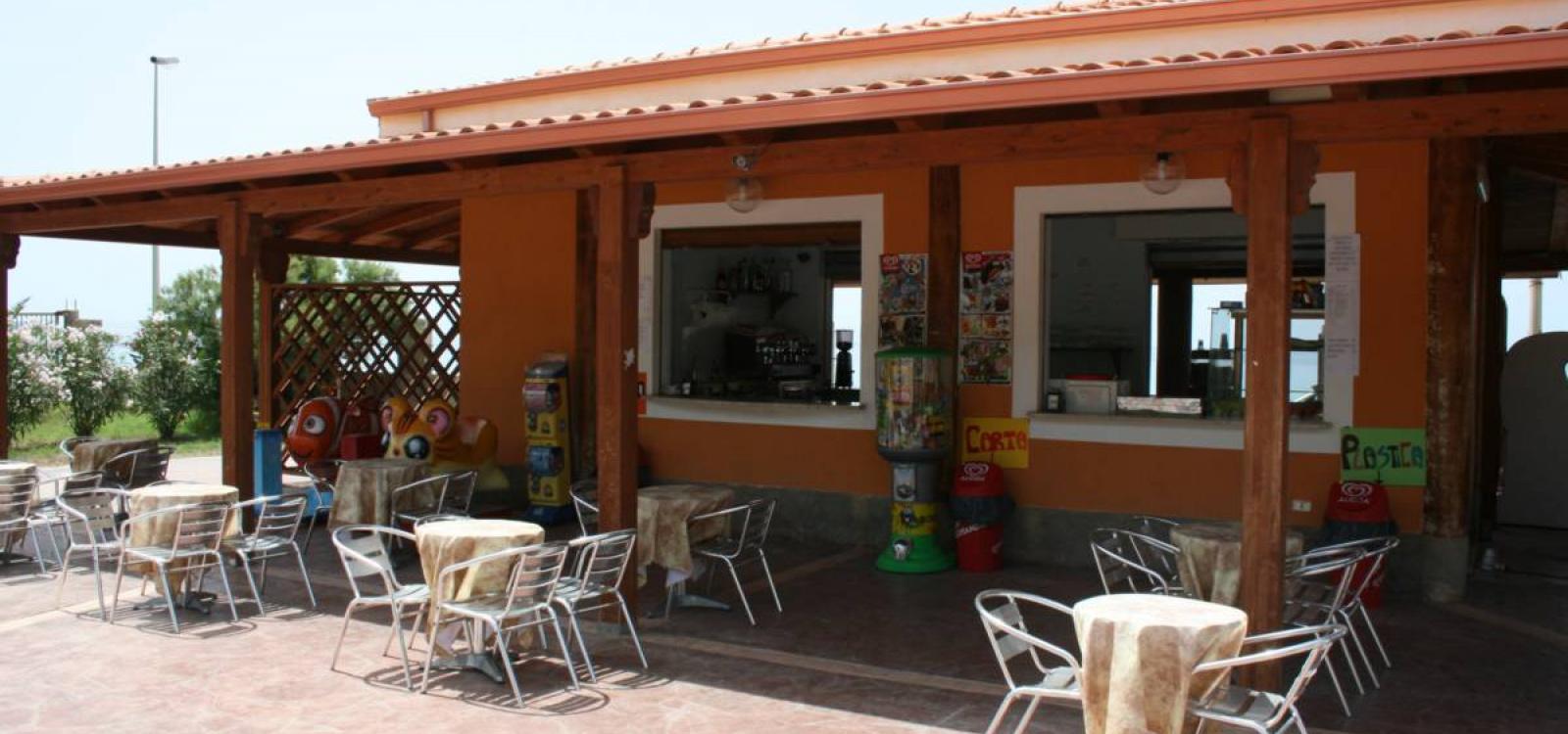 Bar del villaggio Baia di Zambrone