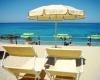 Spiaggia del villaggio Il Gabbiano