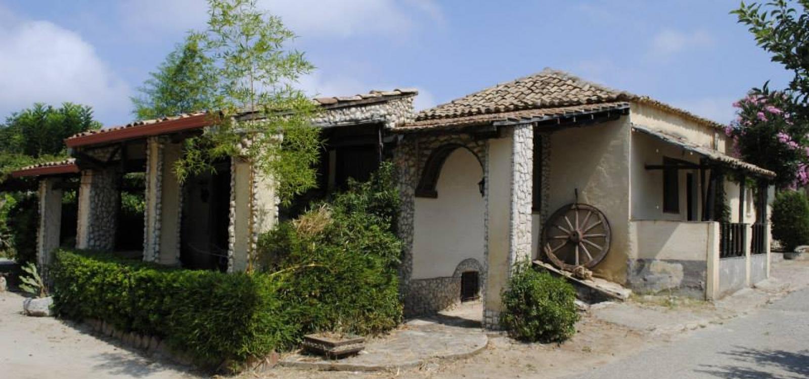 esterno della Casa del Contadino vicino a Tropea