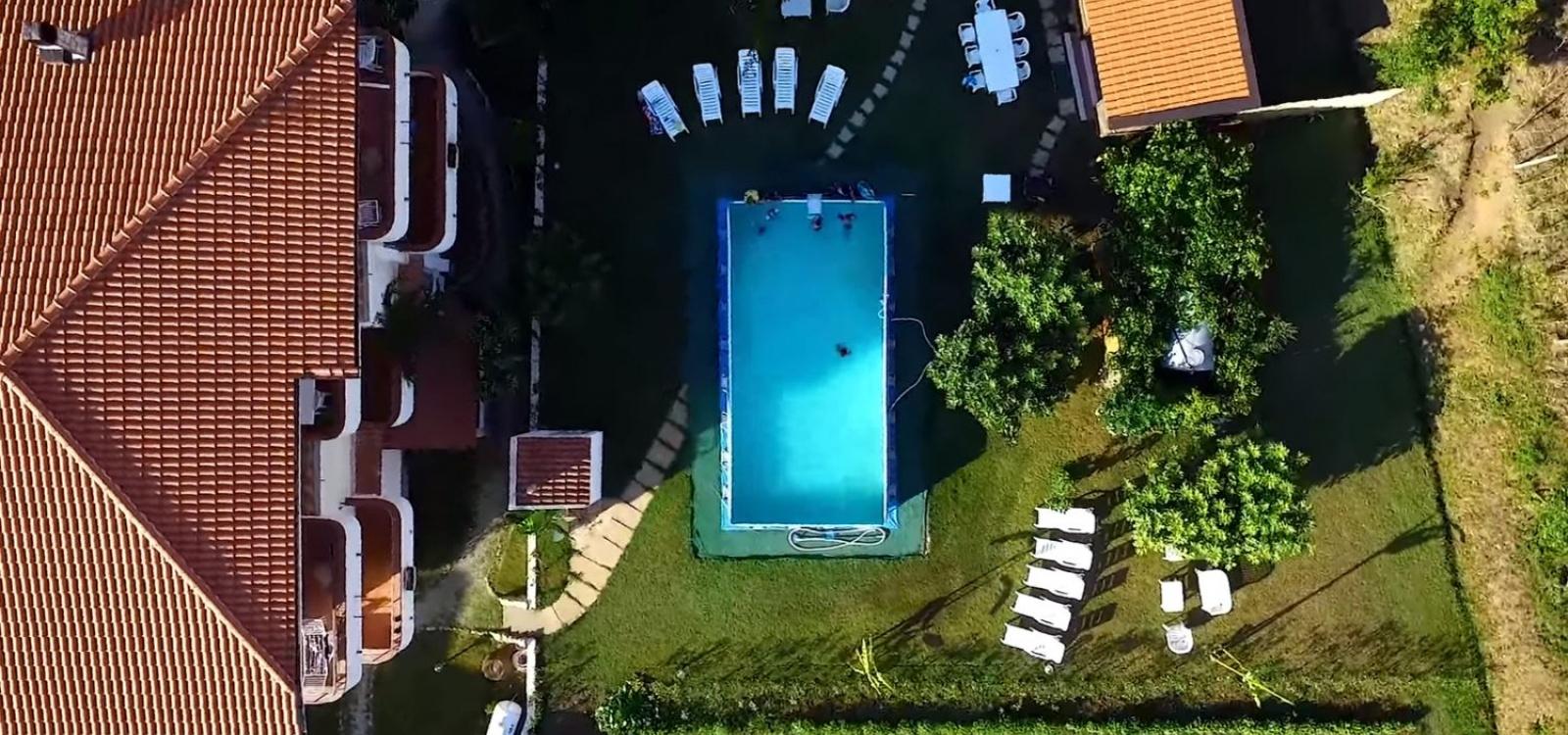 Piscina del residence Pantaleo