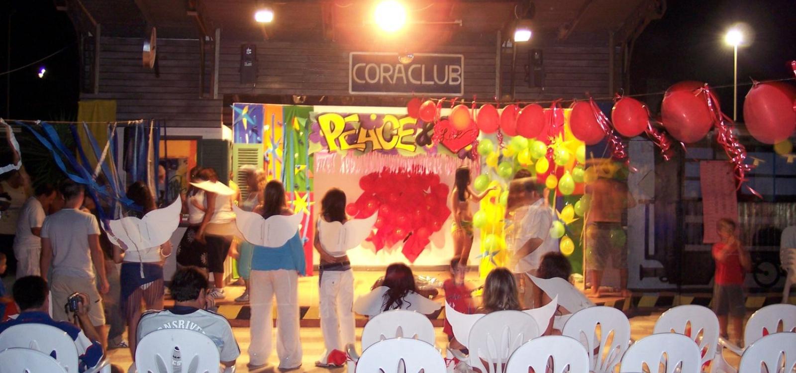 Serate del villaggio Cora Club