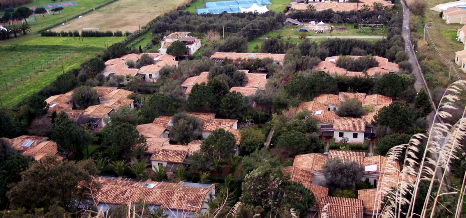Veduta del villaggio Cora Club