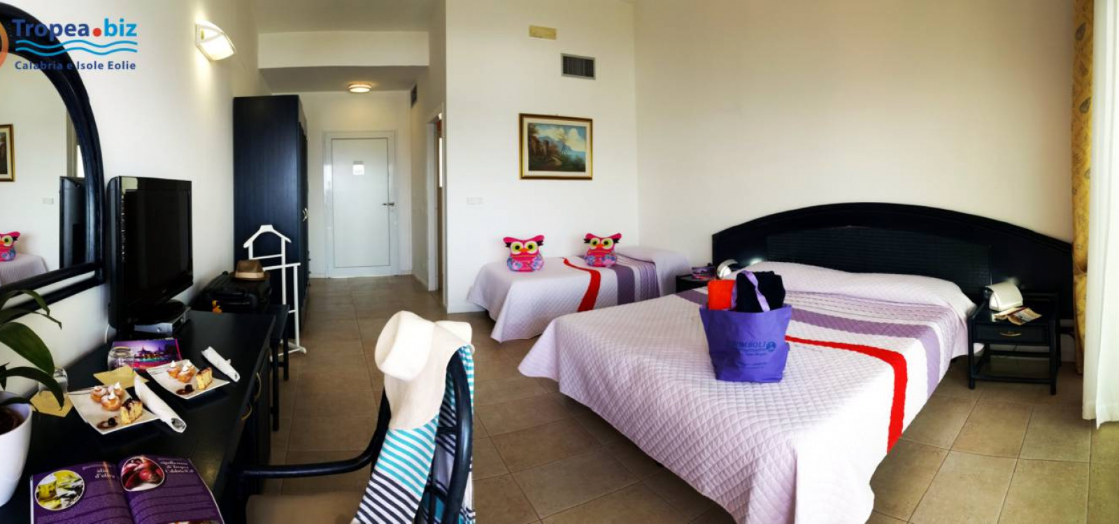 Camera Hotel Stromboli