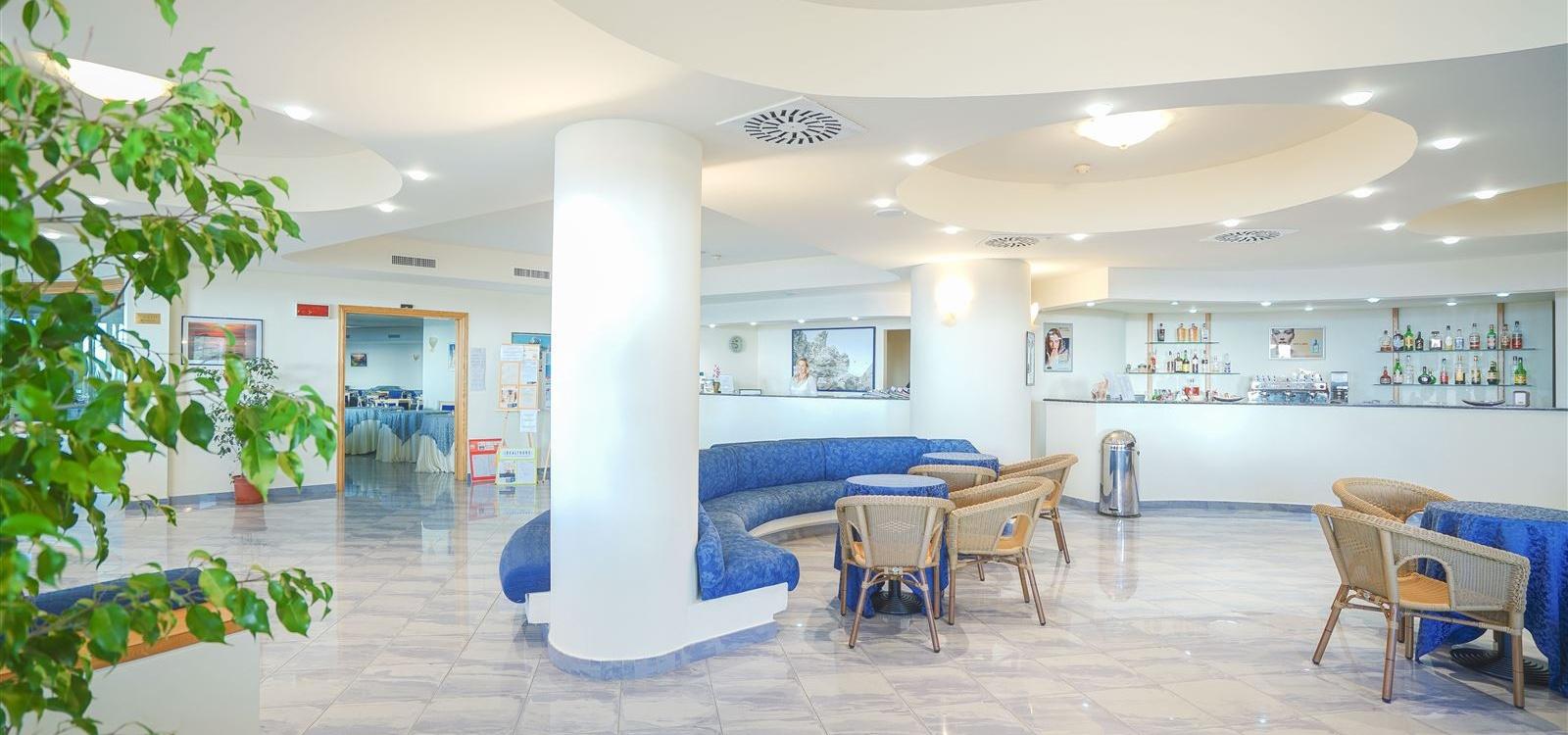Reception hotel Scoglio del Leone
