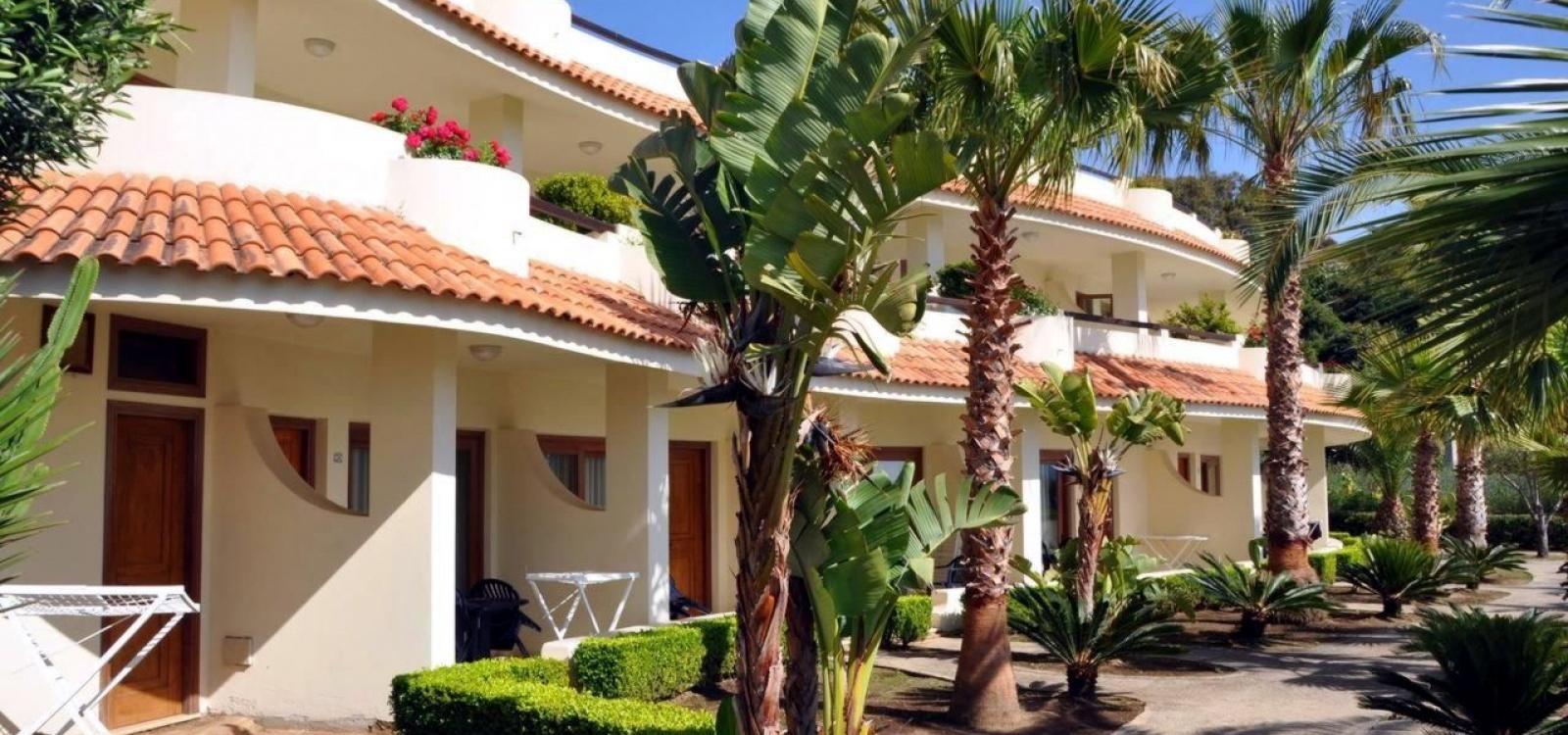 Verande camere Hotel Scoglio del Leone