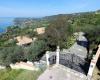 Entrata della villa alba chiara in Calabria