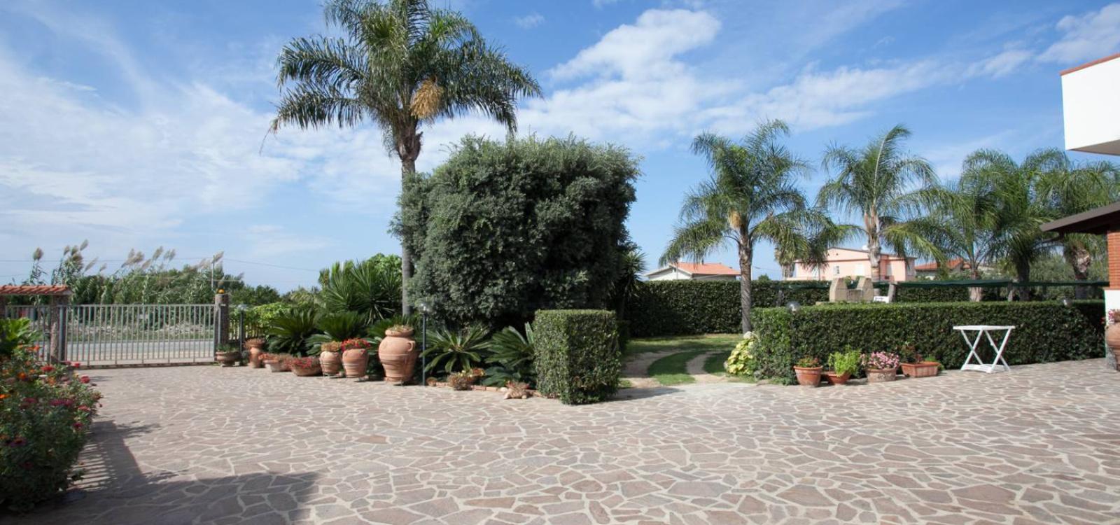 Entrata Villa Eleonora